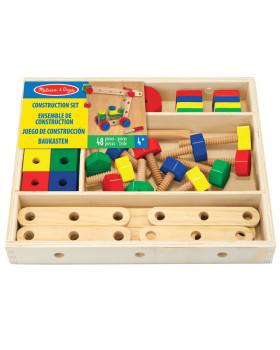 Dřevěná šroubovací stavebnice