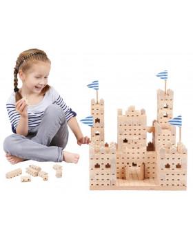 Drevená stavebnica BUKO - Malý hrad