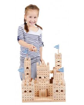 Drevená stavebnica BUKO - Veľký hrad