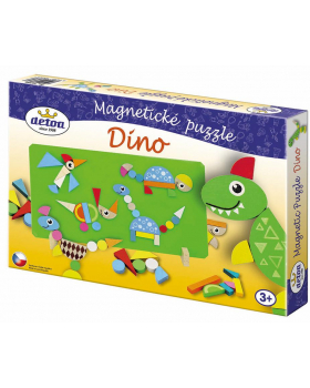 Magnetické puzzle - Dino