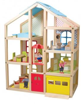 Poschoďový domeček pro panenky