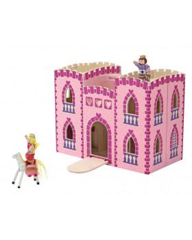 Skládací zámek pro princezny