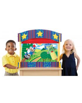 Stolové bábkové divadlo