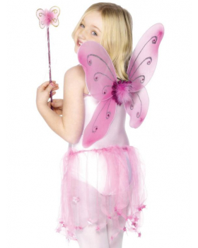 Kostým - Víla růžová