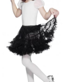 Detská suknička - čierna