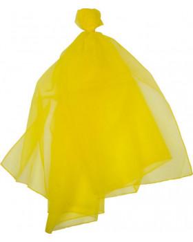 Šatka na žonglovanie - žltá