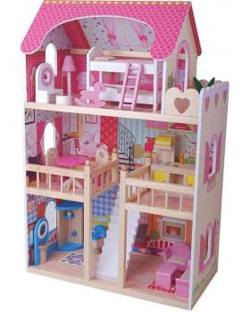 Domeček pro panenky s nábytkem