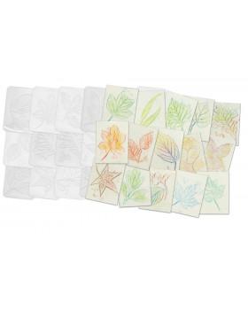 Prekresľovacie plastové podložky - listy