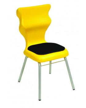 Dobrá stolička - Clasic Soft (26 cm) žltá