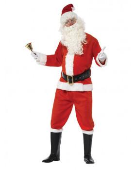 Kostým pro dospělé - Santa Claus - velikost L