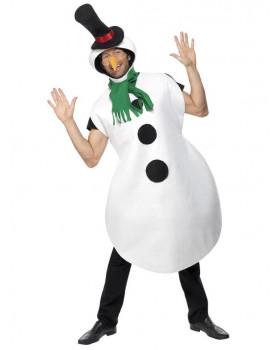 Kostým pre dospelých - Snehuliak