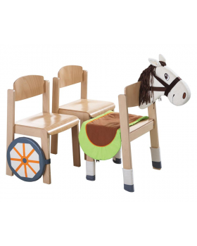Doplňky na židli - Koník
