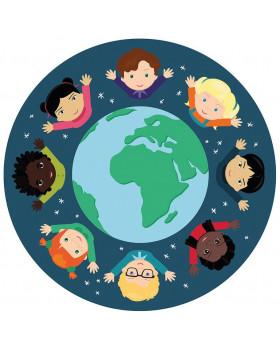 Kobercová podložka - Děti světa