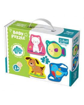 Baby puzzle - Domácí mazlíčci