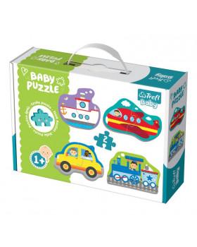 Baby Puzzle - Dopravné prostriedky