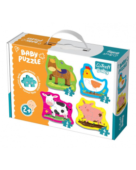 Baby Puzzle - Zvieratká z farmy
