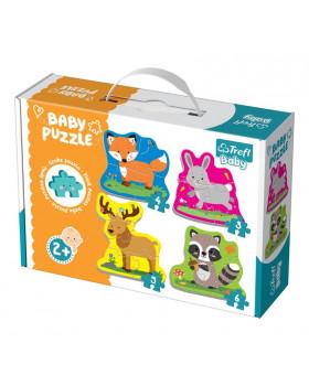 Baby Puzzle - Zvieratká z lesa