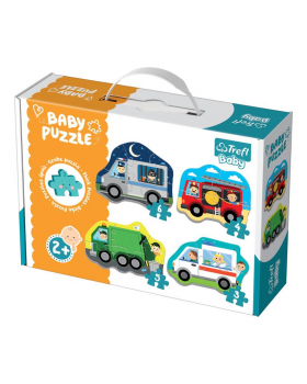 Baby Puzzle - Zásahové vozidla