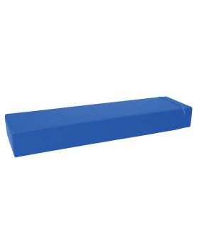 Prostokąt płaski mały - ciemnoniebieski
