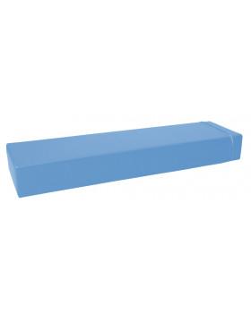 Prostokąt płaski mały - jasnoniebieski
