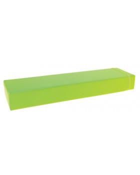 Prostokąt płaski mały - zielony