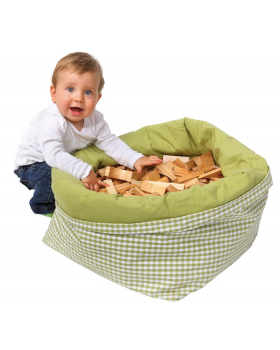 Textilný košík na hračky