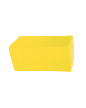 Prostopadłościan mały - żółty