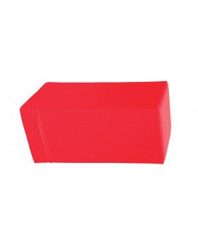 Prostopadłościan mały - czerwony