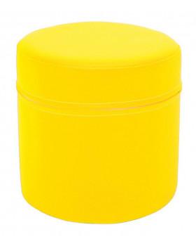 Walec krótki - żółty