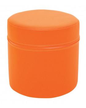 Walec krótki - pomarańczowy