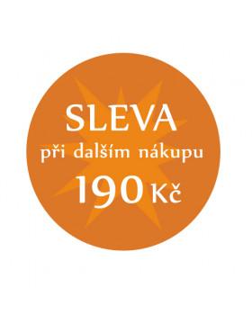 Sleva 190 Kč