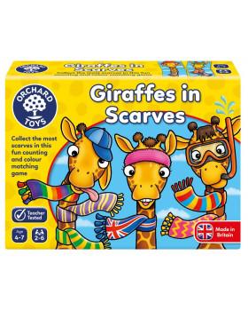 Žirafy se šálami - hra
