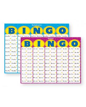 Bingo-Násobenie a delenie