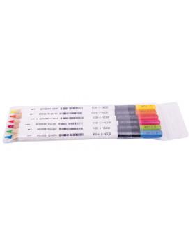 Suchý zvýrazňovač 6 ks rôzne farby
