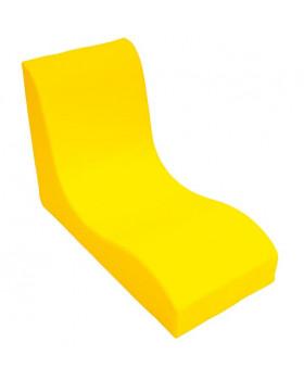 Fotel SOFT Relax dla 1 dziecka - żółty