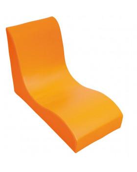 Fotel SOFT Relax dla 1 dziecka - pomarańczowy