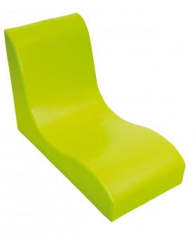 Fotel SOFT Relax dla 1 dziecka - zielony