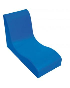 Fotel SOFT Relax dla 1 dziecka - niebieski