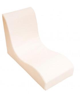 Fotel SOFT Relax dla 1 dziecka - waniliowy