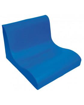 Fotel SOFT Relax dla 2 dzieci -niebieski