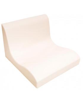 Fotel SOFT Relax dla 2 dzieci -waniliowy