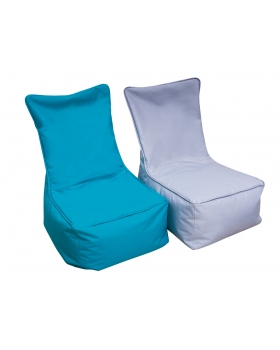 Textilný sedací vak - pre dospelých, sivý
