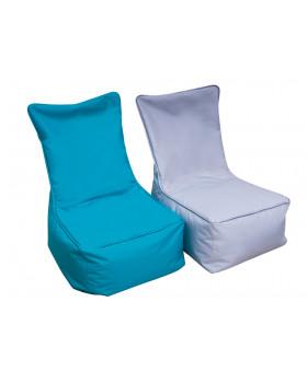 Textilný sedací vak - pre dospelých, tyrkysový