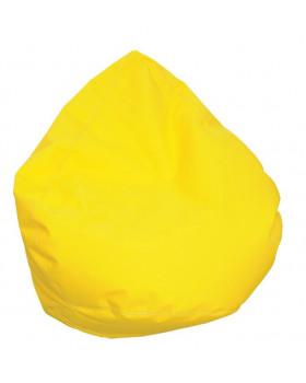 Textilní rehabilitační hruška - žlutá