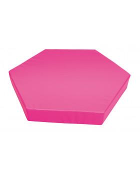 Materac 1 - różowy grubość 15cm