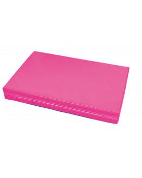 Materac 11 - różowy grubość 10 cm