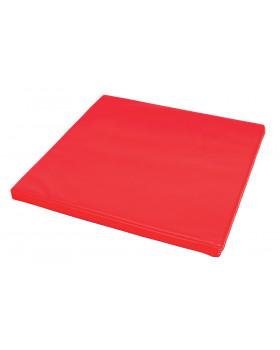 Materac 12 - czerwony grubość 5 cm