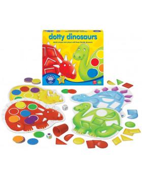 Bodkovaný dinosaurus - hra