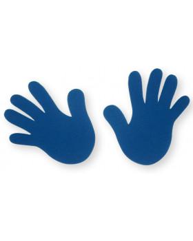 Rúčky modré - 4ks