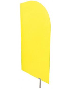 Predeľovacia stena žltá 60 x 120 cm